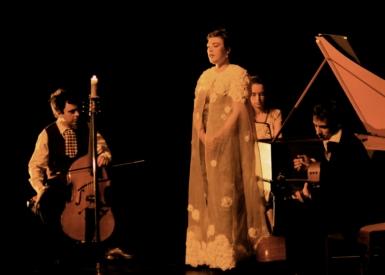 Rosemary Standley et Bruno Helstroffer's Band