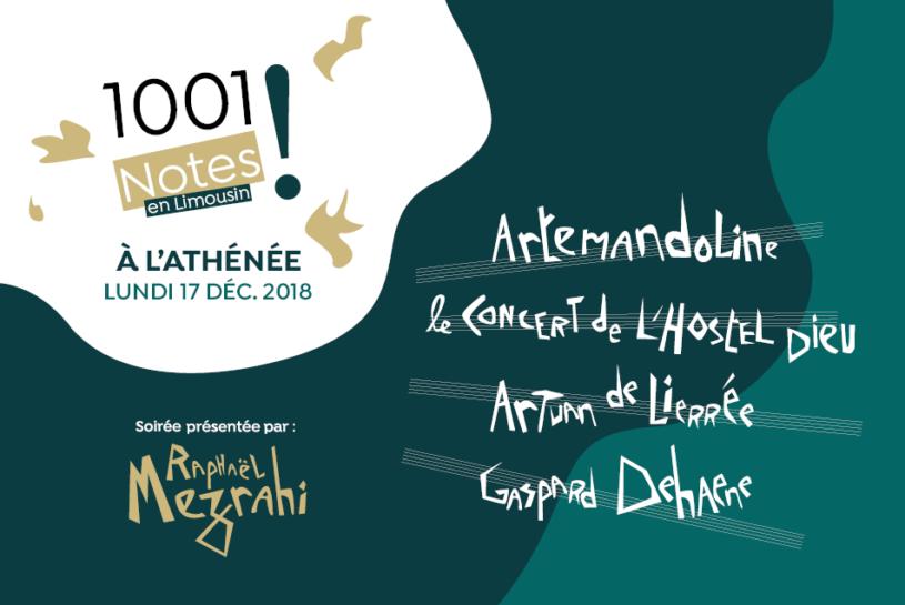 1001 Notes à l'Athénée