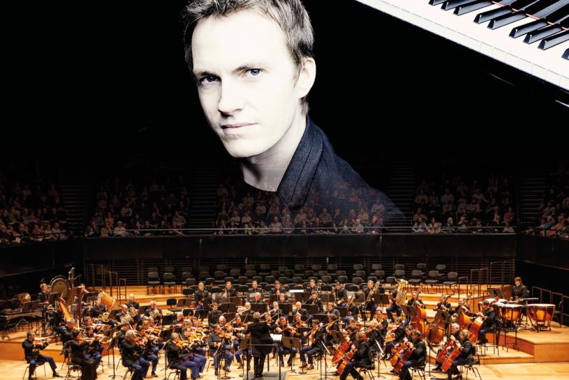Alexandre Tharaud et l'Orchestre de la Garde Républicaine