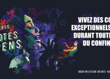 """""""Aux notes citoyens"""" - Bandeau"""