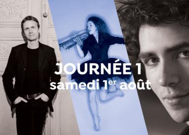 Journée 1 : A. Tharaud, A. Kantorow, L. Renaudin Vary...