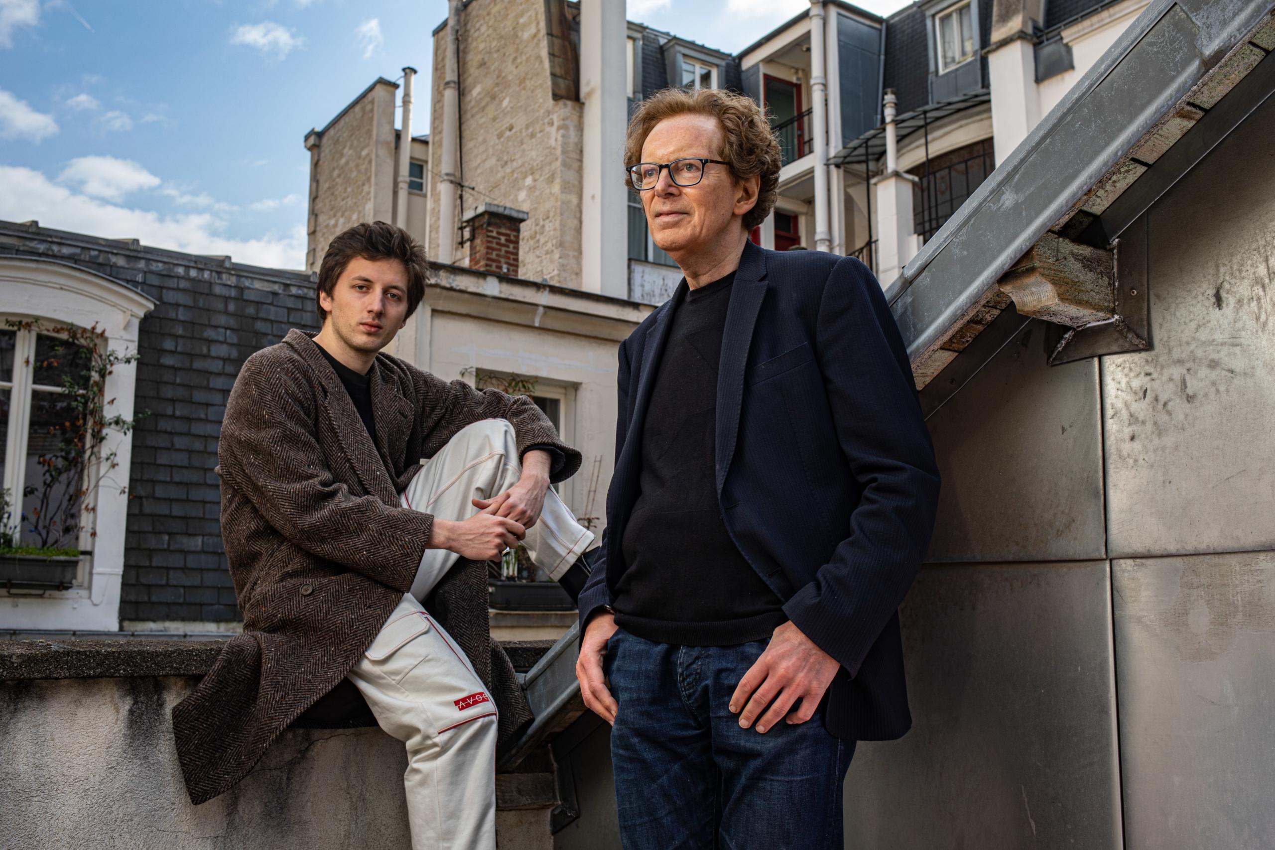 Mikhael & Sacha Rudy mars 2021 © Thomas Morel-Fort - Festival 1001 Notes