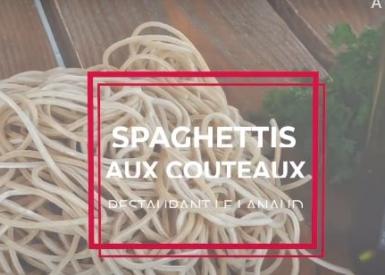 Spaghettis aux couteaux de Anne Alassane