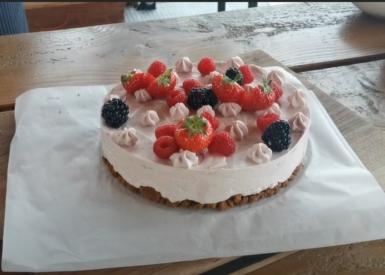 Les Classiques d'Anne Alassane #5 : Le Cheesecake aux fruits rouges