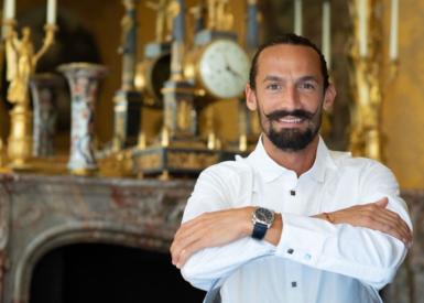 Gaël Clavière, chef pâtissier de l'Hôtel Matignon: «C'est le moment présent et l'improvisation qui priment.»